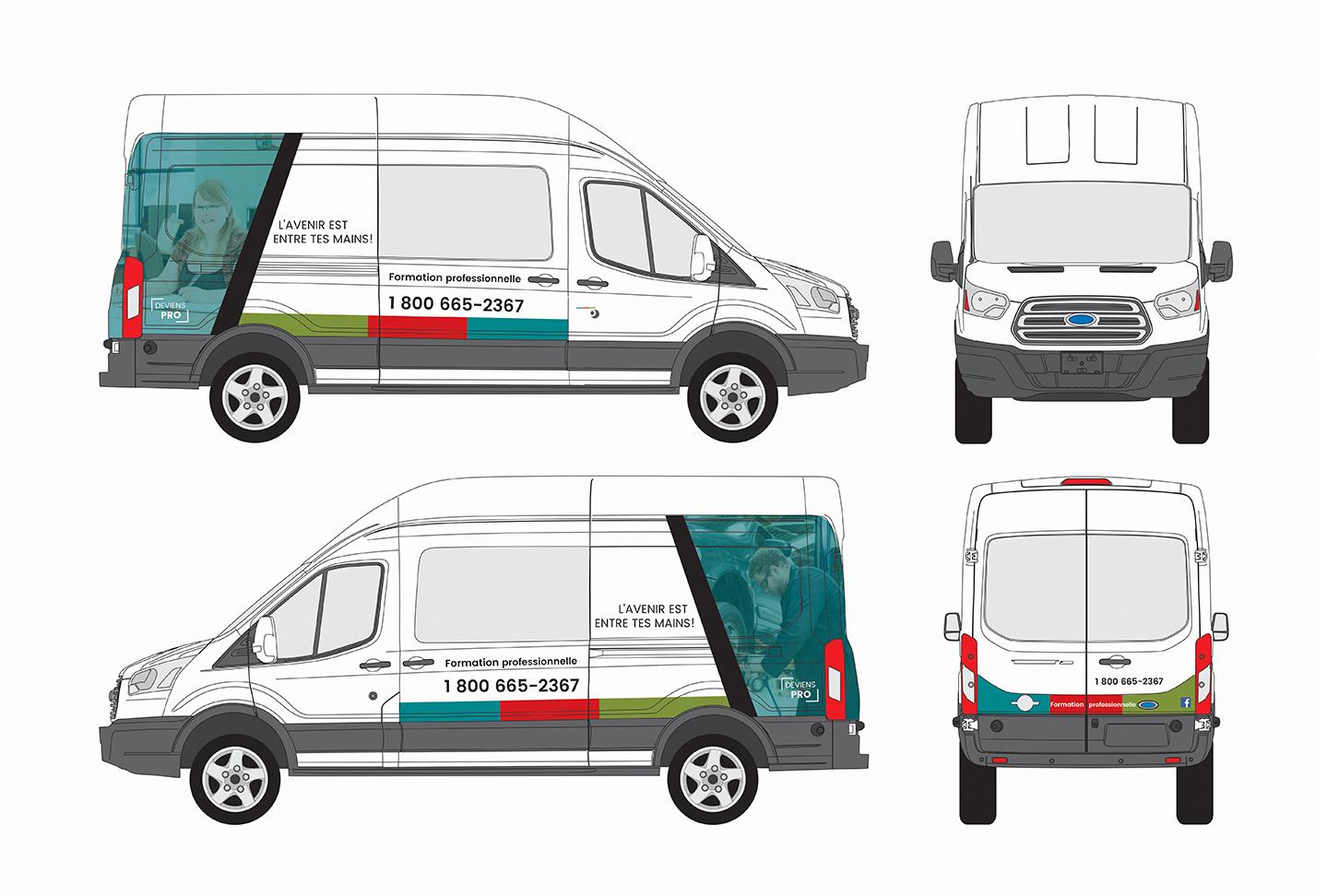 CFPRO - Lettrage de véhicule et wrap automobile