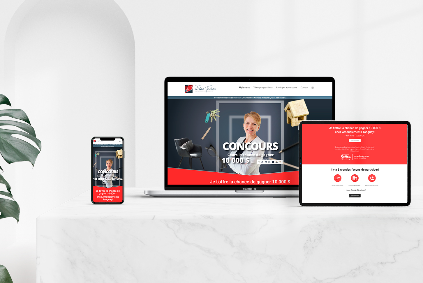 Danie Truchon - Site Web