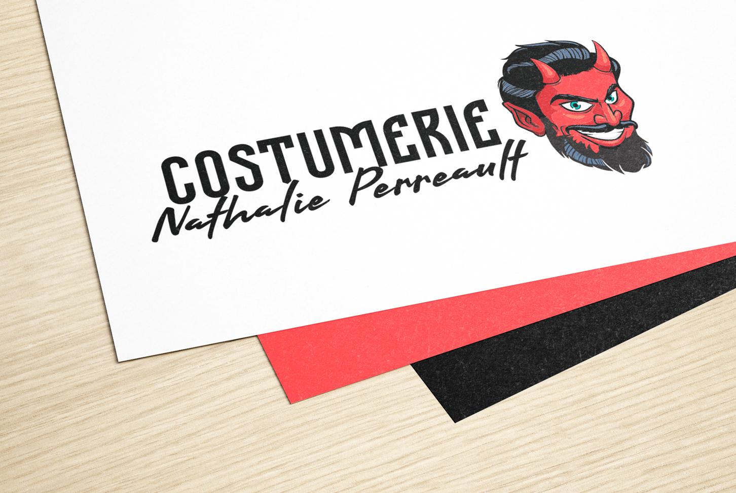 Costumerie Nathalie Perreault - Logo