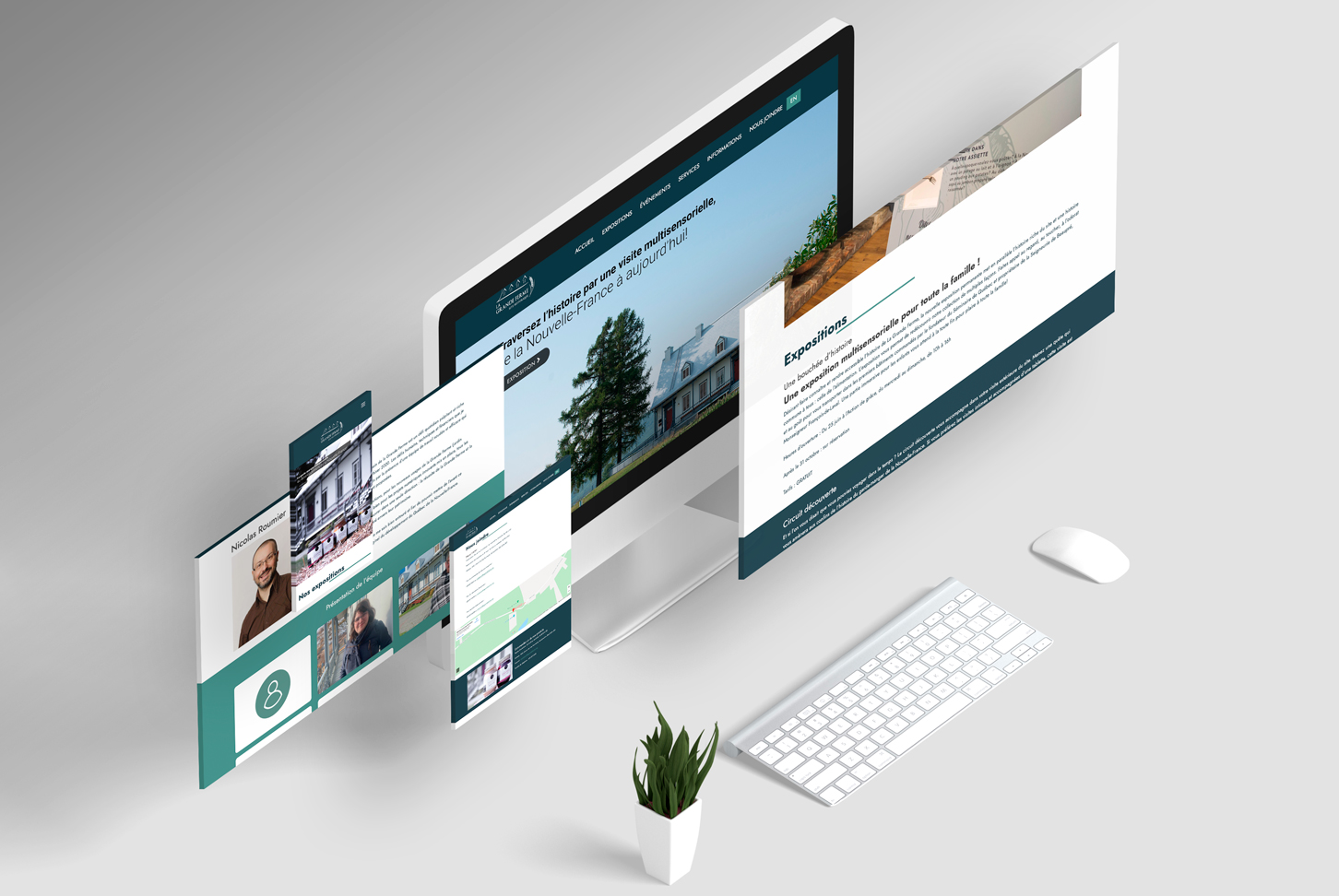 La grande ferme - Programmation site Web