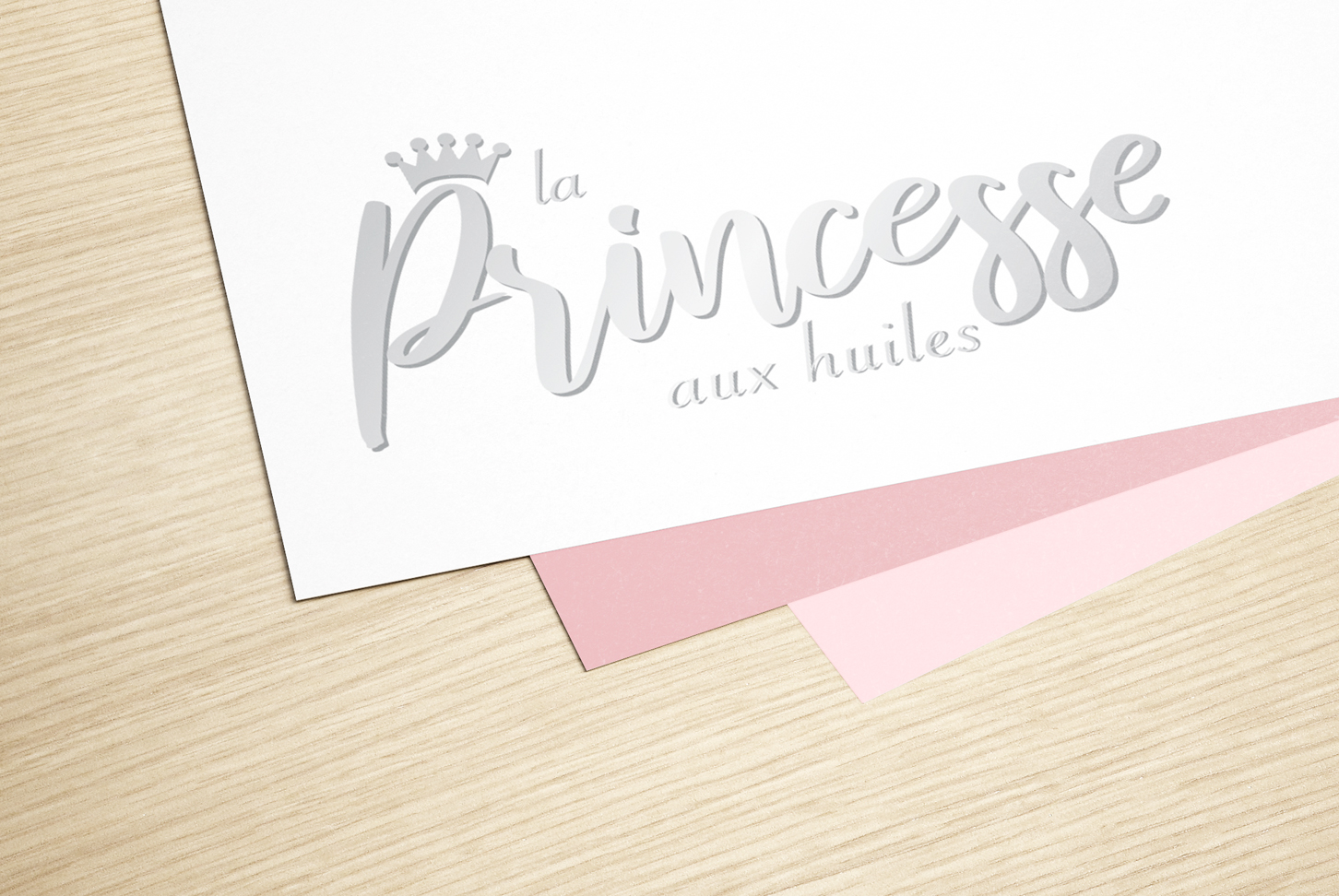 Princesse aux huiles - Logo