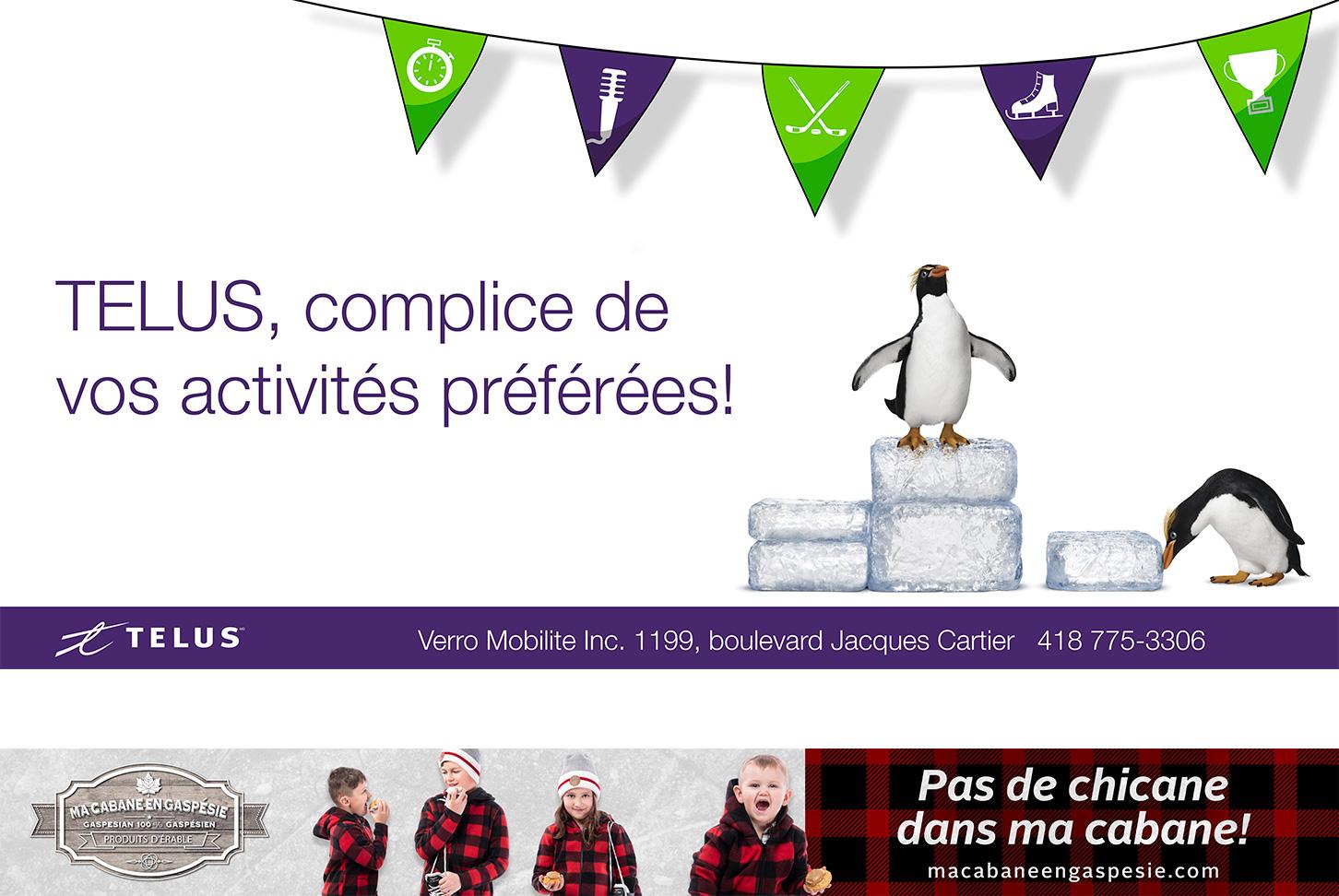 Design LB - Amphithéâtre Desjardins - Telus et Ma cabane en Gaspésie